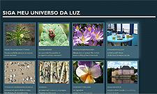 Abbildung der Website CSS3 Photogalerie.